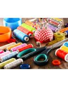 Cotone da ricamo - Cotone per cucire - Cotone - Aghi - Bottoni